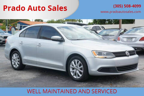 2013 Volkswagen Jetta for sale at Prado Auto Sales in Miami FL
