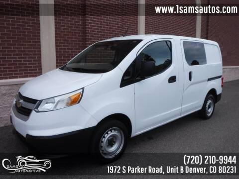 2016 Chevrolet City Express Cargo for sale at SAM'S AUTOMOTIVE in Denver CO