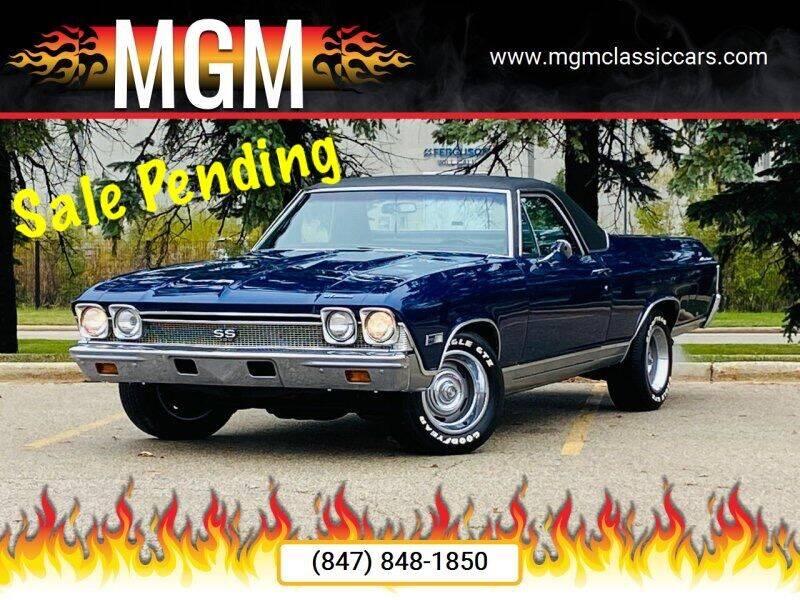 1968 Chevrolet El Camino for sale at MGM CLASSIC CARS in Addison, IL