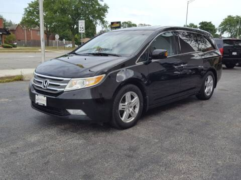 2011 Honda Odyssey for sale at AUTOSAVIN in Elmhurst IL