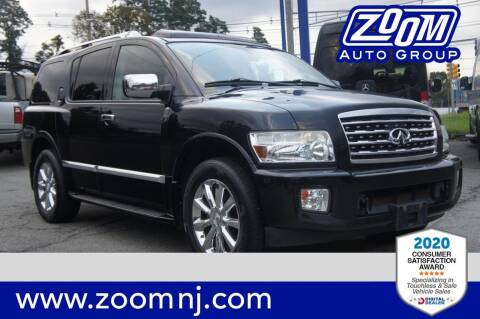 2010 Infiniti QX56 for sale at Zoom Auto Group in Parsippany NJ