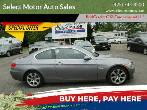 2007 BMW 3 Series for sale at Select Motor Auto Sales in Lynnwood WA