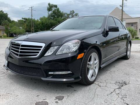 2012 Mercedes-Benz E-Class for sale at LUXURY AUTO MALL in Tampa FL