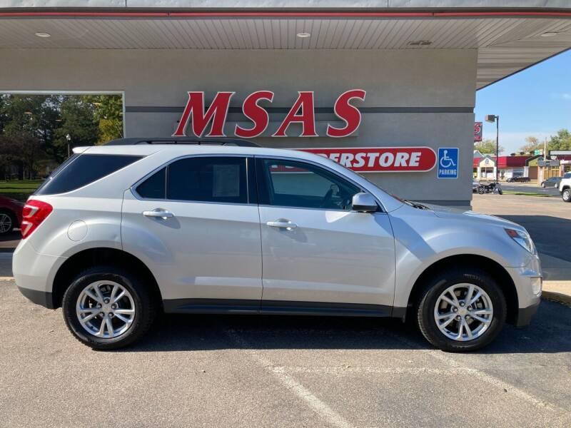 2017 Chevrolet Equinox for sale at MSAS AUTO SALES in Grand Island NE