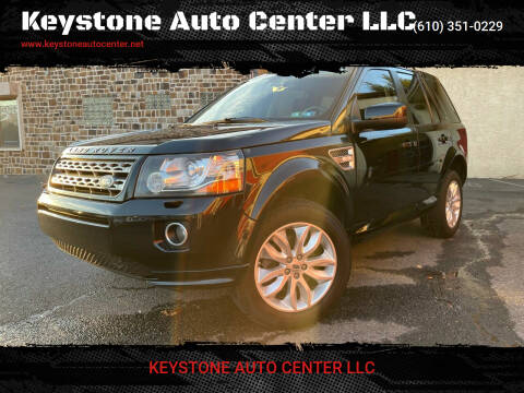 2013 Land Rover LR2 for sale at Keystone Auto Center LLC in Allentown PA