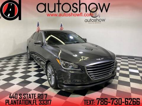 2017 Genesis G80 for sale at AUTOSHOW SALES & SERVICE in Plantation FL