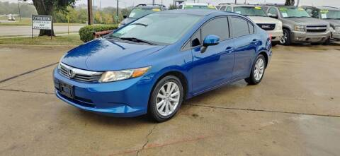 2012 Honda Civic for sale at CityWide Motors in Garland TX