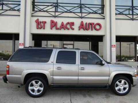 2003 Chevrolet Suburban for sale at First Place Auto Ctr Inc in Watauga TX
