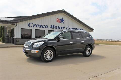 2012 Buick Enclave for sale at Cresco Motor Company in Cresco IA