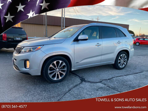 2014 Kia Sorento for sale at Towell & Sons Auto Sales in Manila AR
