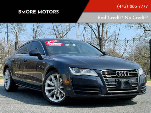 2013 Audi A7 for sale at Bmore Motors in Baltimore MD