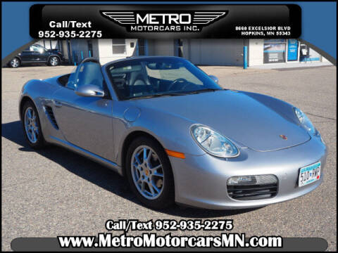 2006 Porsche Boxster for sale at Metro Motorcars Inc in Hopkins MN