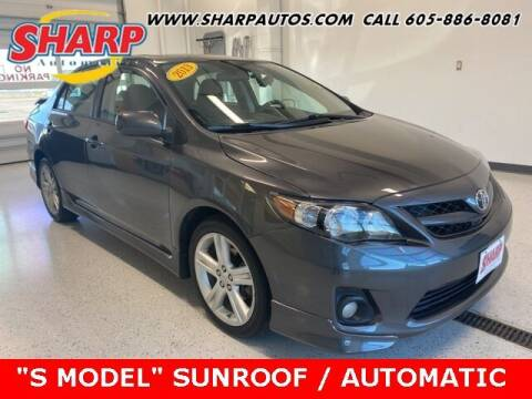 2013 Toyota Corolla for sale at Sharp Automotive in Watertown SD