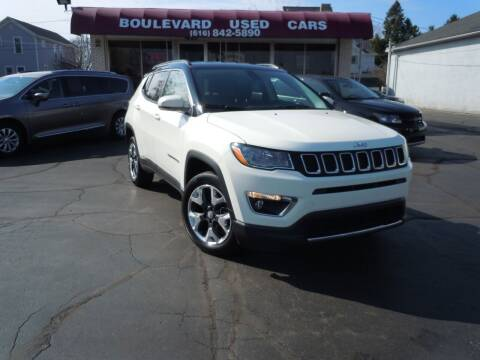 2019 Jeep Compass for sale at Boulevard Used Cars in Grand Haven MI