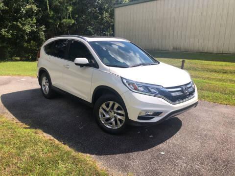 2015 Honda CR-V for sale at J. MARTIN AUTO in Richmond Hill GA