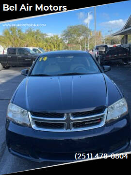 2014 Dodge Avenger for sale at Bel Air Motors in Mobile AL