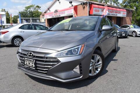 2019 Hyundai Elantra for sale at Foreign Auto Imports in Irvington NJ