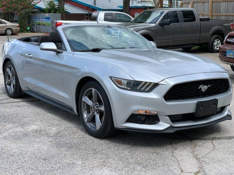 2015 Ford Mustang for sale at AWESOME CARS LLC in Austin TX