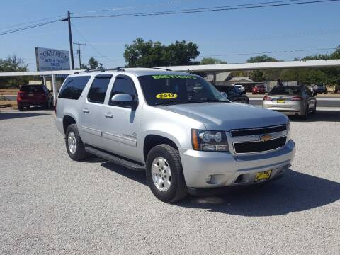 2013 Chevrolet Suburban for sale at Bostick's Auto & Truck Sales in Brownwood TX