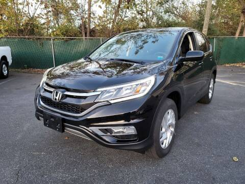 2016 Honda CR-V for sale at AW Auto & Truck Wholesalers  Inc. in Hasbrouck Heights NJ