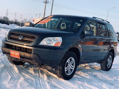 2003 Honda Pilot for sale at SOLOMA AUTO SALES in Grand Island NE