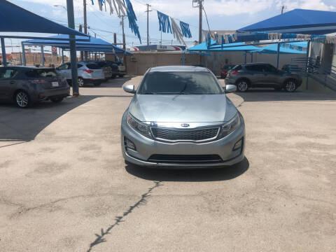 2014 Kia Optima Hybrid for sale at Autos Montes in Socorro TX