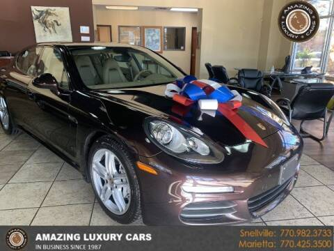 2014 Porsche Panamera for sale at Amazing Luxury Cars in Snellville GA