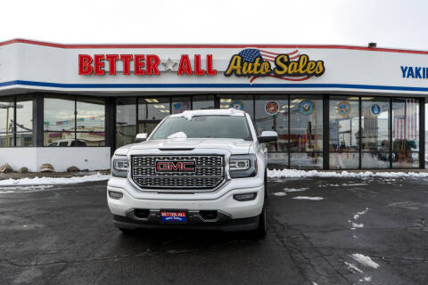 2016 GMC Sierra 1500 for sale at Better All Auto Sales in Yakima WA