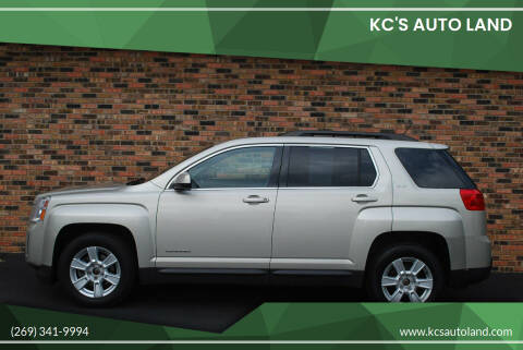 2013 GMC Terrain for sale at KC'S Auto Land in Kalamazoo MI