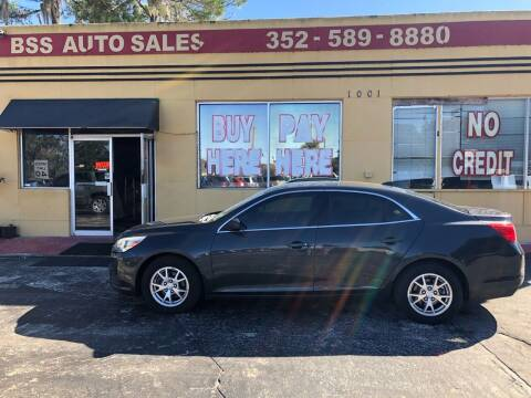 2014 Chevrolet Malibu for sale at BSS AUTO SALES INC in Eustis FL