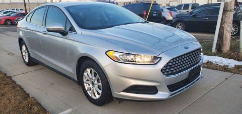 2015 Ford Fusion for sale at Wyss Auto in Oak Creek WI