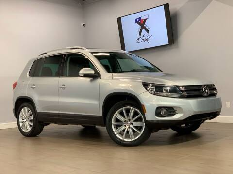 2012 Volkswagen Tiguan for sale at TX Auto Group in Houston TX