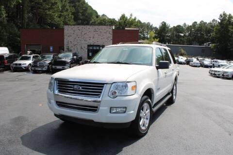 2008 Ford Explorer for sale at Atlanta Unique Auto Sales in Norcross GA