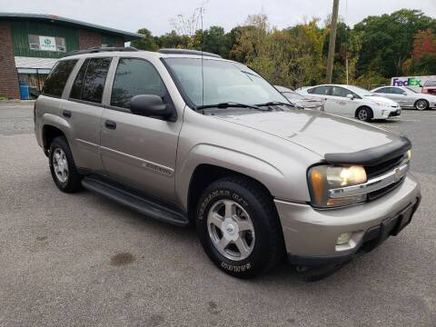 2003 Chevrolet TrailBlazer for sale at MX Motors LLC in Ashland MA