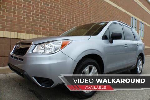 2016 Subaru Forester for sale at Macomb Automotive Group in New Haven MI