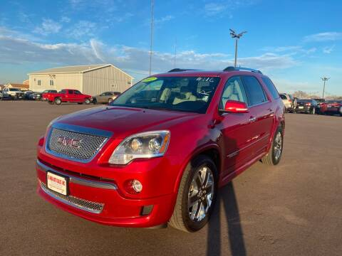 2012 GMC Acadia for sale at De Anda Auto Sales in South Sioux City NE