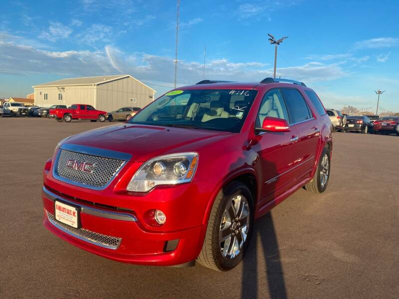 2012 GMC Acadia for sale at De Anda Auto Sales in South Sioux City NE