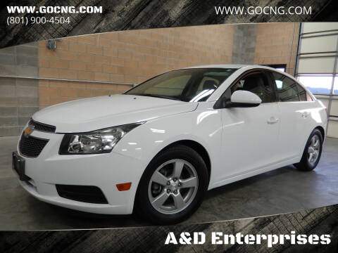2014 Chevrolet Cruze for sale at A&D Enterprises in Spanish Fork UT