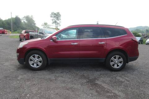 2013 Chevrolet Traverse for sale at Clearwater Motor Car in Jamestown NY