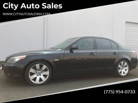 2006 BMW 5 Series for sale at City Auto Sales in Sparks NV