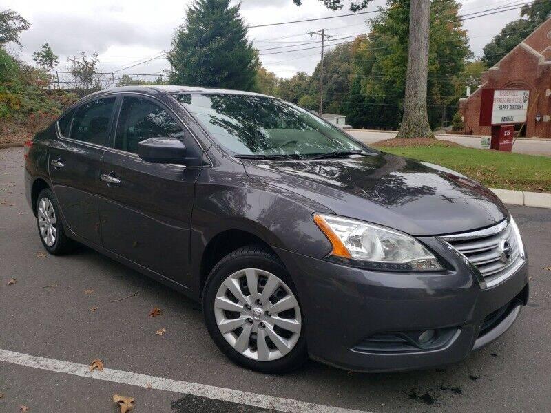 2014 Nissan Sentra for sale at McAdenville Motors in Gastonia NC