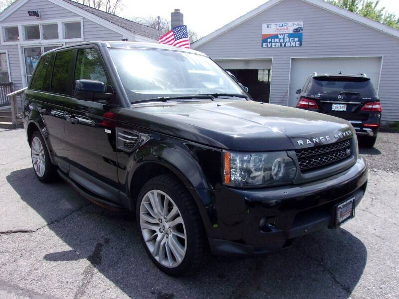 2010 Land Rover Range Rover Sport for sale at Top Line Import in Haverhill MA