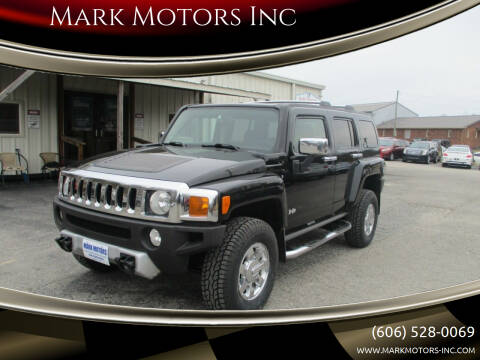2009 HUMMER H3 for sale at Mark Motors Inc in Gray KY