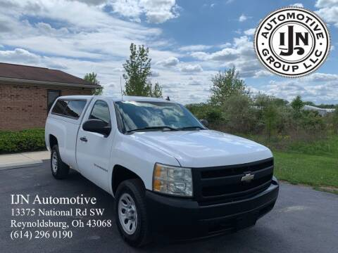 2008 Chevrolet Silverado 1500 for sale at IJN Automotive Group LLC in Reynoldsburg OH