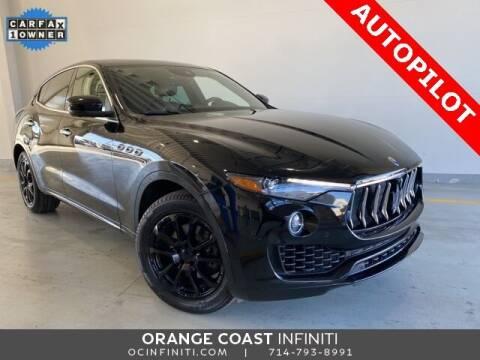 2017 Maserati Levante for sale at ORANGE COAST CARS in Westminster CA