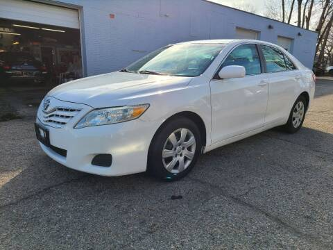 2010 Toyota Camry for sale at Devaney Auto Sales & Service in East Providence RI