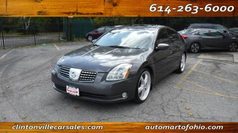 2006 Nissan Maxima for sale at Clintonville Car Sales - AutoMart of Ohio in Columbus OH