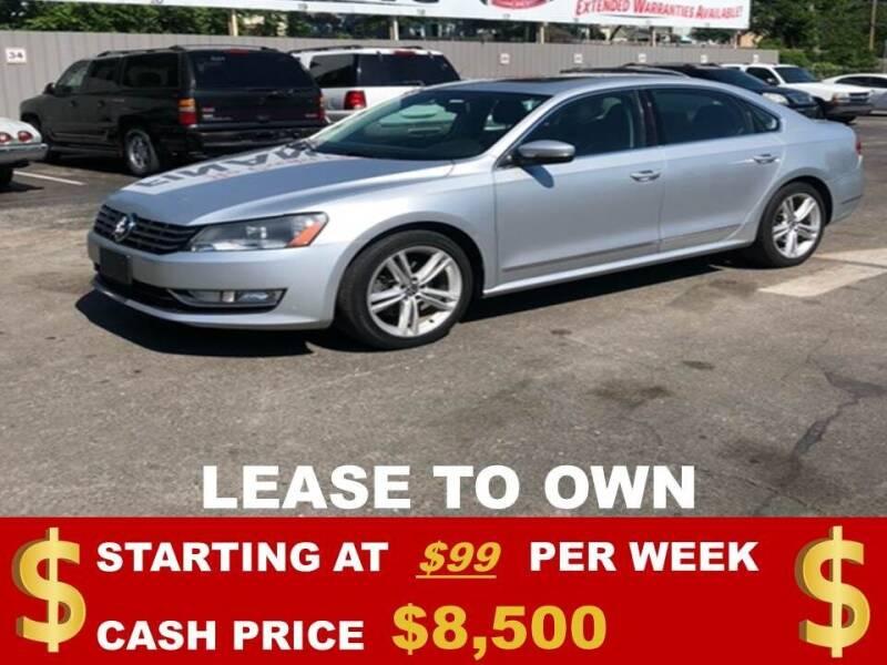 2014 Volkswagen Passat for sale at Auto Mart USA in Kansas City MO