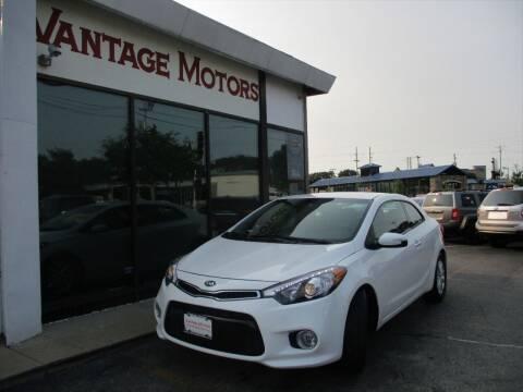 2016 Kia Forte Koup for sale at Vantage Motors LLC in Raytown MO
