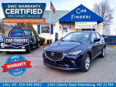 2017 Mazda CX-3 for sale at CAR FINDERS OF MARYLAND LLC - Certified Cars in Eldersburg MD